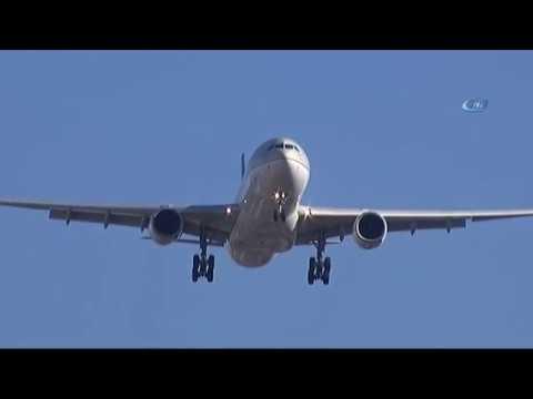 Uçaklar Lodosta Beşik Gibi Sallandı