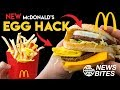 NEW McDonald's Egg Hack || News Bites