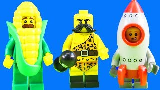 Lego Minifigures Series 17 Kids Toys + Old Macdonald Had A Farm Nursery Rhyme Children Song