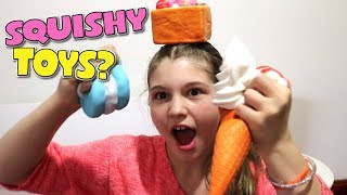 SQUISHIES from The Reject Shop Australia | Squishy Toys | JorjaBriteny Ep133