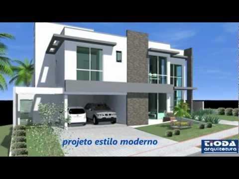 Projetos de Casas em Alphaville / ITAHYÊ - Tioda Arquitetura