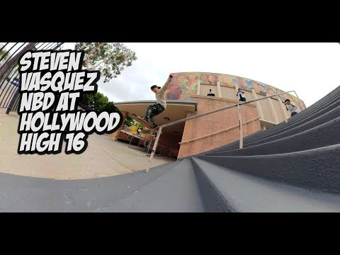 STEVEN VASQUEZ NBD AT HOLLYWOOD HIGH 16 RAIL !!!  - NKA VIDS -