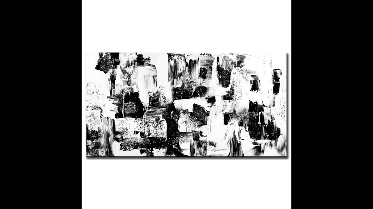 Cosmic abstract art painting lessons techniques tips and for Black and white acrylic painting techniques
