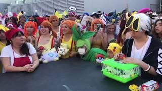 Jason Paige sings Pokémon theme songs at anime impulse convention