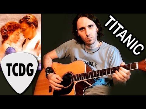 Como Tocar Titanic En Guitarra Acústica Tutorial fácil para principiantes por Mario Freiria TCDG