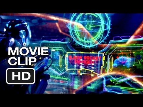 Pacific Rim Movie CLIP - Elbow Rocket (2013) - Guillermo Del Toro Movie HD