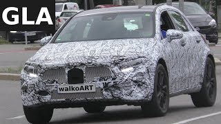 Mercedes Erlkönig GLA 2019 MFA-Plattform GLA prototype X157 -  4K SPY VIDEO