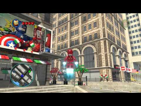 LEGO Marvel Super Heroes The Video Game - Iron Man free roam