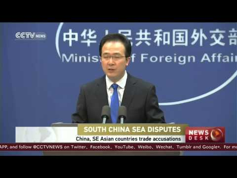 China urges Philippines, Vietnam to cease activity in disputed sea territory