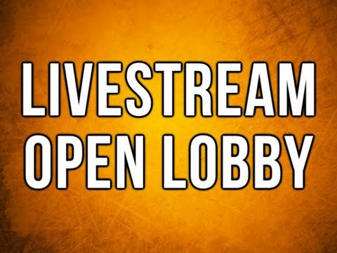 Open Lobby & Livestream - Black Ops 2 - Join Details in Description