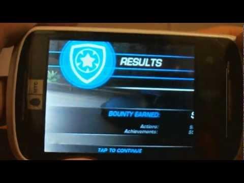 Обзор/Запуск игры Need For Speed Hot Pursuit на андройд МТС 916.wmv
