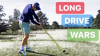 WHO WILL HAVE THE LONGEST DRIVE COACH IS BACK ON THE GOLF COURSE