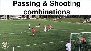 ⚽️Shooting drills⚽️ | different combinations with Goal Keepers | Soccer | Football | Joner 1on1
