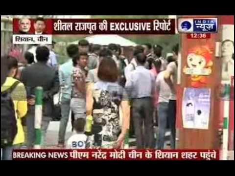 India News Exclusive reporting from Shanghai with Sheetal Rajput
