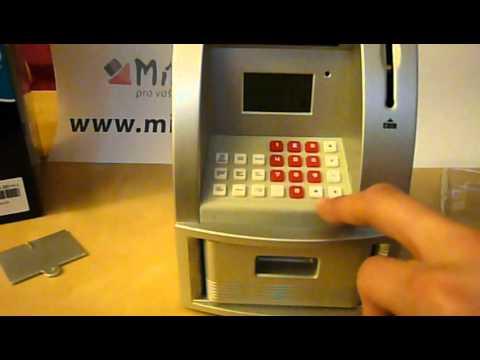 Pokladnička - osobní ATM bankomat