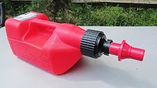 World's Fastest Gas Can
