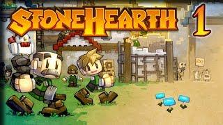 Northern Alliance Adventure ? Stonehearth 1.1 Gameplay ? [Stream VOD] Part 1
