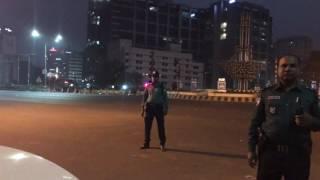Bangladeshi president VIP motorcade