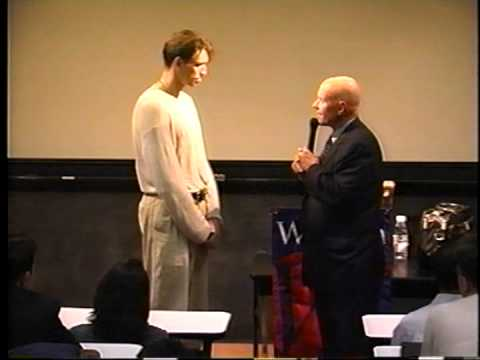 Stephen R. Covey speaking at the Wharton School, University of Pennsylvania