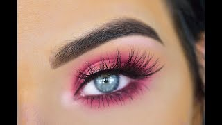 Huda Beauty Ruby Obsessions Palette | Eyeshadow Tutorial