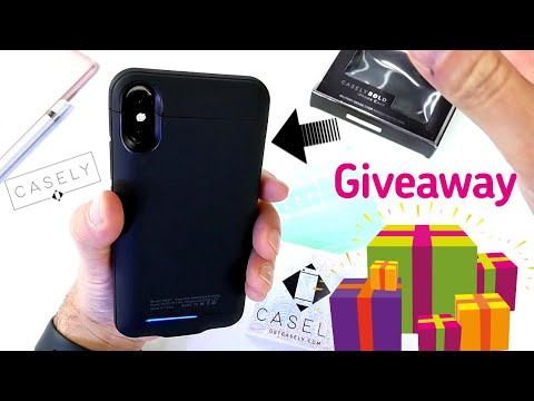 Casely Bold Collection & Charging Battery Pack Case For iPhone Review + GIVEAWAY