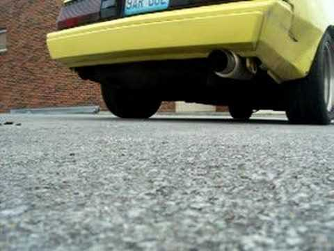megan racing exhaust on chrysler conquest