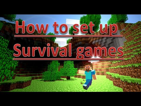 Minecraft 1.7.4: How to set up a Survival Games/Hunger Games Server [UPDATED 2014] [TUTORIAL]