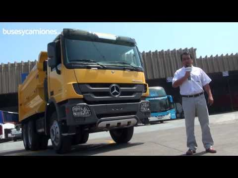 Mercedes -  Benz Actros 3344K 2013 l Video en Full HD l Presentado por BUSESYCAMIONES.pe