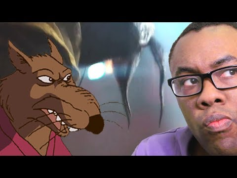 SPLINTER REVEALED (Ninja Turtles TV Spot Review) : Black Nerd