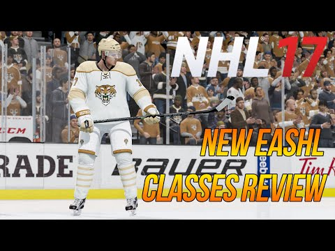 NHL 17 NEW EASHL PLAYER CLASSES REVIEW