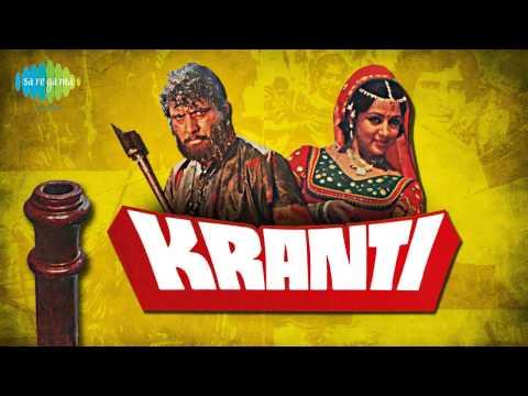 Looie Shama Sha - Nitin Mukesh - Lata Mangeshkar - Kranti 1981...