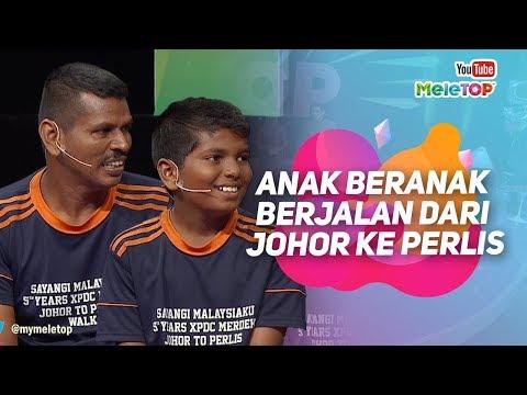 download lagu Anak beranak berjalan dari Johor ke Perlis demi Malaysia | Ragu Rajamani & R Surya | MeleTOP gratis