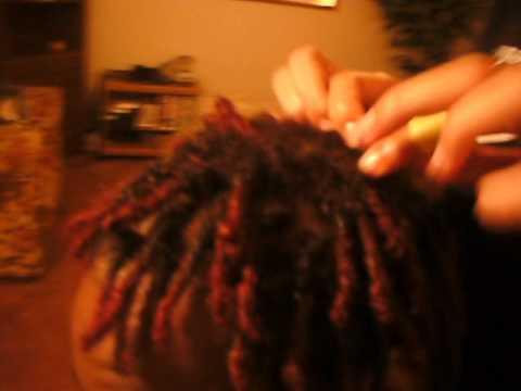 interlocking my dreads - YouTube