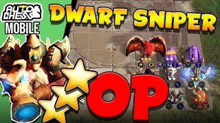 New Patch = HUNTERS OP! - ⭐⭐⭐ Dwarf Sniper is BROKEN | Auto Chess Mobile
