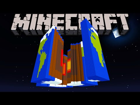 "Minecraft 1.8.1 Adventure Map ""Crack in the World"" Exciting Volcano Eruption Escape!"