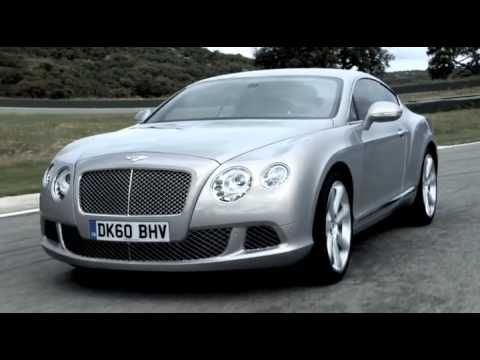 New Bentley Continental GT 2011 Video