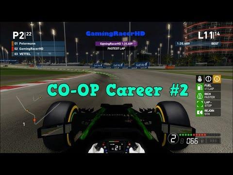 F1 2014 - CO OP Career Mode - Race #2 - Bahrain Grand Prix [1080p HD 60FPS]