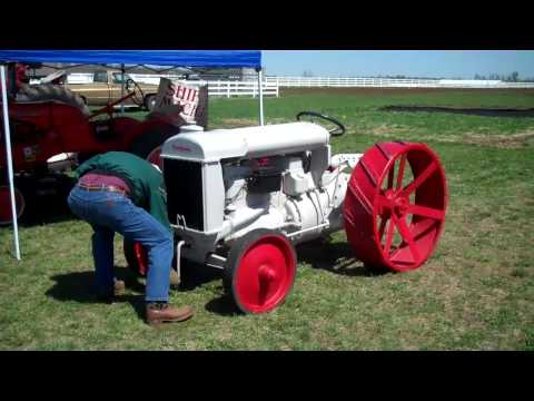 This tractor belongs to my friend Richard, it shows him starting his beautiful 1919 Fordson tractor without using a starter or even a crank! This is a must s...
