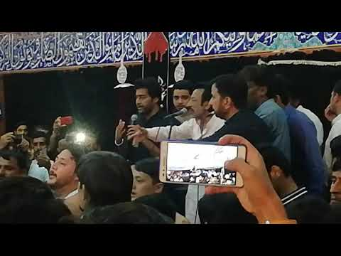 Hassan Sadiq Live Noha 2019 - Mola Meri Hay Daua Jaung Kabi Karbobala