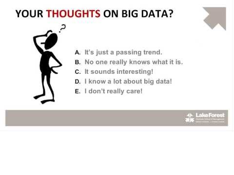 Understanding and Using Big Data - Leadership Learning Series - Corporate Learning Solutions