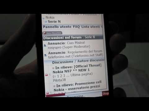 HTC HD2 opera mini 4.2.mov