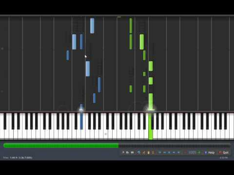 Soul Eater Opening 1 Resonance [t.m. Revolution] Full Synthesia Tutorial By Codegeassc2 video