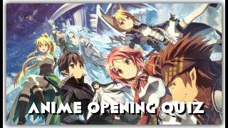 Anime Opening Quiz #1