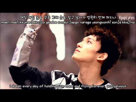 Chen - Best Luck [English Subs + Romanization + Hangul] HD
