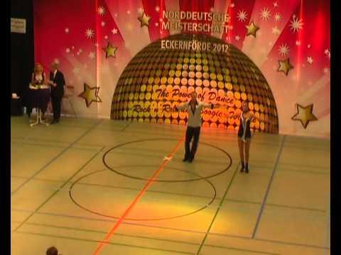 Corinne Nicolet & Ronny Gantert - Norddeutsche Meisterschaft 2012