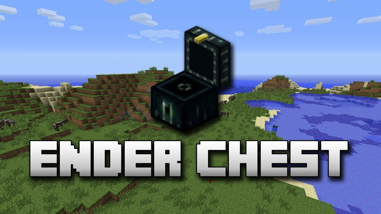 Minecraft - 1.3 Ender Chest Guide! - YouTube