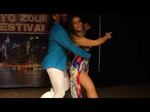 00108 NYCZF2016 Jessica and Ry'El ~ video by Zouk Soul