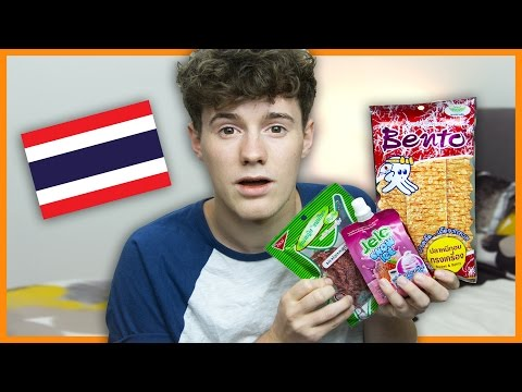 BRITISH TRIES THAI SNACKS/CANDY