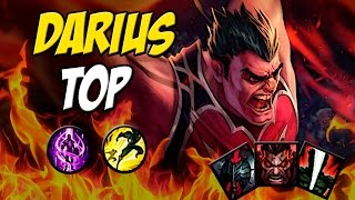 O R DO PENTAKILL - DARIUS TOP GAMEPLAY - League of Legends