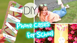 DIY Tumblr Inspired Phone Cases For School